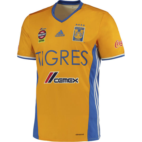 Tigres UANL adidas Home Jersey 16/17